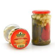 Partymix - Gemüse süss-sauer eingelegt - von Spreewald-Rabe (800 ml Glas) 001