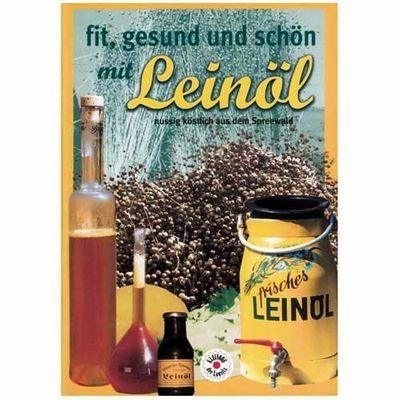 """Heft """"fit, gesund und schön mit Leinöl"""""""