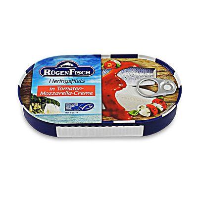 Heringsfilets in Tomaten-Mozzarella Creme (200 g)
