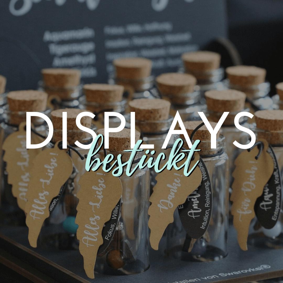 Displays bestückt