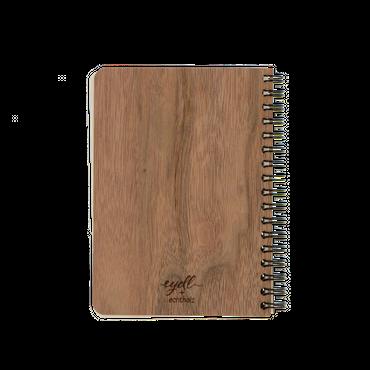 """""""Samen des Lebens"""" Wood Book Nuss"""