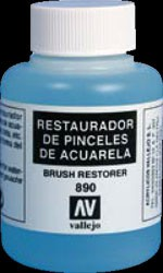 Vallejo Pinsel Restaurator (Brush Restorer), 85 ml (VE6)