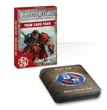 Blood Bowl: Chaos-Chosen-Team-Card Pack (EN)