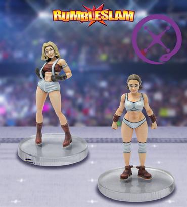 Female Brawler & Female Grappler - Rumbleslam