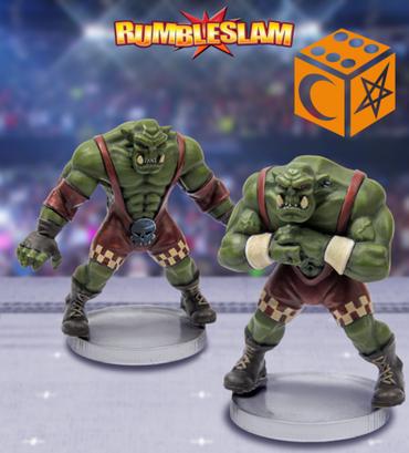 Orc Brawler & Orc Grappler - Rumbleslam