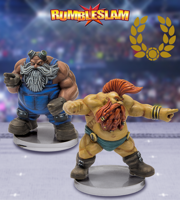 Dwarf Mechanic & Glory Seeker - Rumbleslam