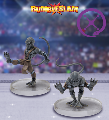 Shadowling Brawler & Shadowling Grappler - Rumbleslam