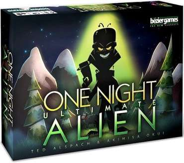 One Night Ultimate Alien - Bezier Games