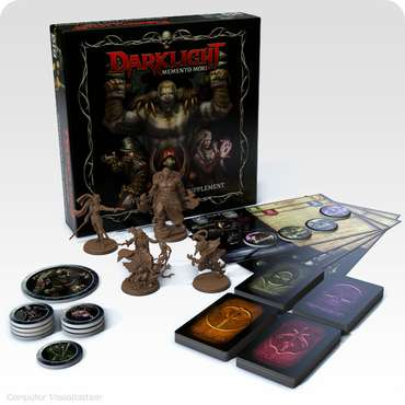 Adventurers Pack Supplement - Darklight Memento Mori