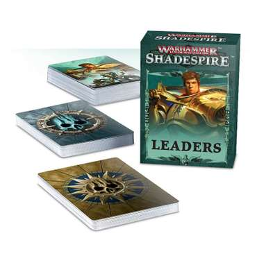 Shadespire: Leader Cards (DE)