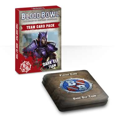 Blood Bowl: Dark Elf Team Cards (EN)