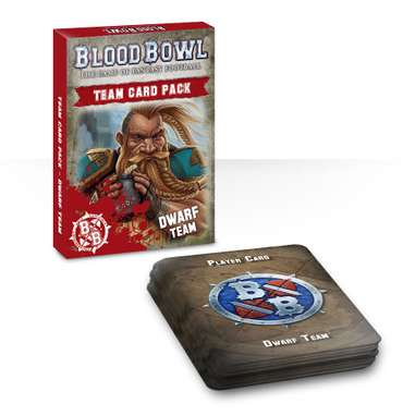 Blood Bowl: Dwarf Team Cards (DE)