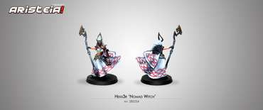 "Hexx3r ""Nomad Witch"" blister"
