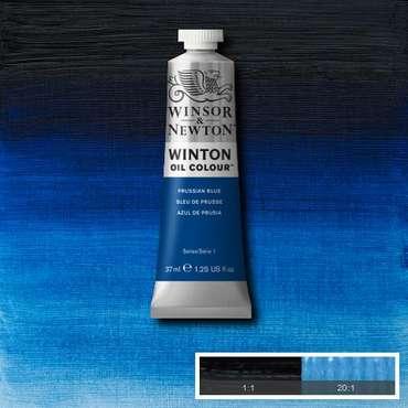 W&N Winton Ölfarbe Preußischblau
