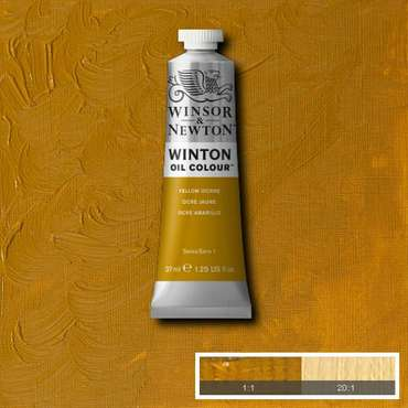 W&N Winton Oilpaint Yellow Ochre