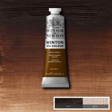 W&N Winton Oilpaint Burnt Umber