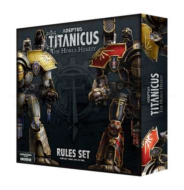 Adeptus Titanicus: The Horus Heresy Rules Set (DE)
