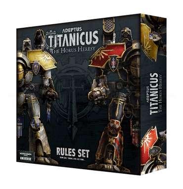 Adeptus Titanicus: The Horus Heresy Regelset (EN)