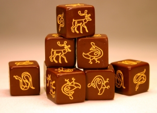 SAGA Dice (Scots / Picts / Irish)