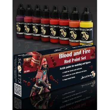Paint-Set Blood-and-Fire-Red
