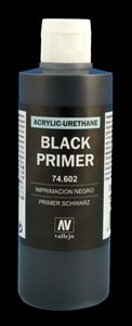 Vallejo Surface Primer Black (200ml)