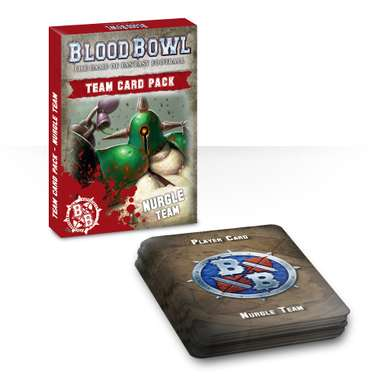 Blood Bowl: Nurgle-Cards (EN)