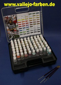 Model Color Hobbyset (72 Farben, 3 Pinsel)