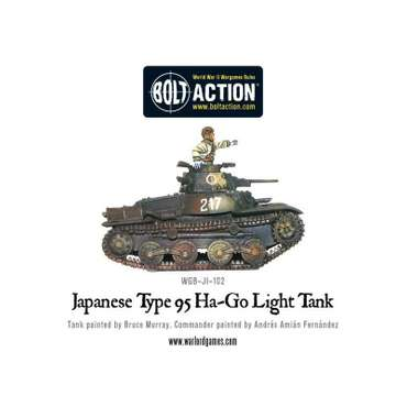 Type 95 Ha-Go - Bolt Action