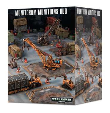 WH40K Sector Mechanicus Munitorum Munitions Hub