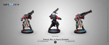 Kurgats, Reg. of Assault Engineers (Autocannon) blister