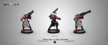 Kurgats, Reg. of Assault Engineers (Autocannon) blister
