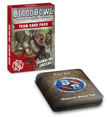 Blood Bowl Team Cards: Shambling Undead (EN)