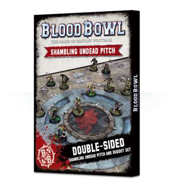 Blood Bowl-Spielfeld: Shambling Undead