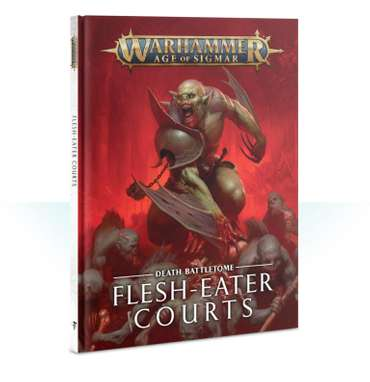 Battletome: Flesh-Eater Courts (HB) (Englisch)