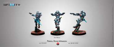 Perseus, Rogue Myrmidon (Two Pistols) Bister