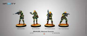 Brawlers, Mercenary Enforcers Box