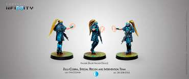 Zulu-Cobra, Special Recon and Intervention Team (Hacker) Blister