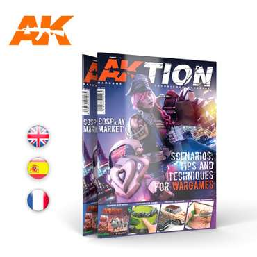 AKTION Wargame Techniques Magazine Issue 1
