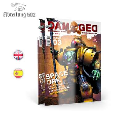DAMAGED - Worn and Weathered Models Magazine Issue 03 (English)