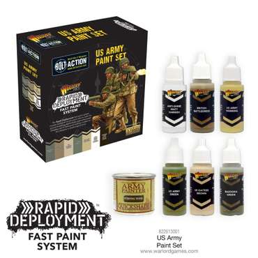 US-Army Paint Set