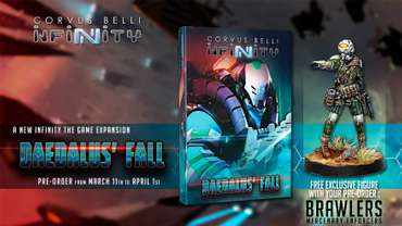 Daedalus' Fall (EN) incl. Brawler Hacker