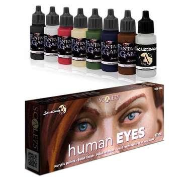 Paint-Set human EYES