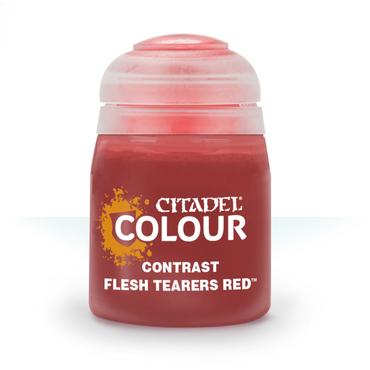 Flesh Tearers Red - Contrast