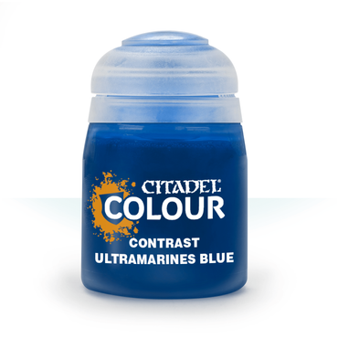 Ultramarines Blue - Contrast