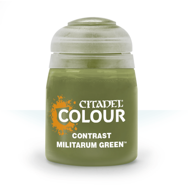 Militarum Green - Contrast