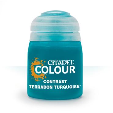 Terradon Turquoise - Contrast