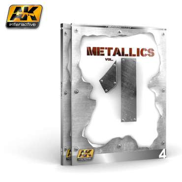 AK-507 Metallics Vol.1 (AK-Learning-Series-No.4) (English)