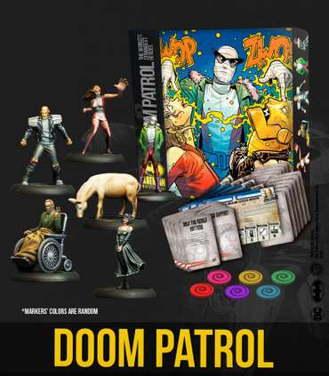 Doom Partrol Bat-Box