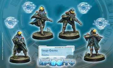 Loup-Garou. (Box with 4 male figures)