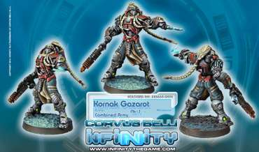 Kornak Gazarot, Morat Superior Warrior-Officer (MK12)